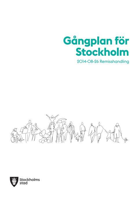Gångplan för Stockholm