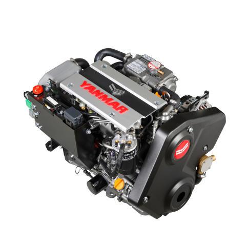 Hi-res image -  YANMAR - the award-winning YANMAR 3JH40 common rail inboard engine
