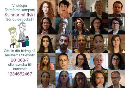 Kampanj för kvinnor som flyr