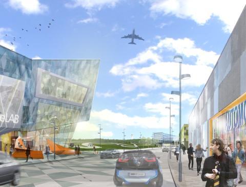 I ett unikt samarbete presenterar Airport City Stockholm en ny stadsbyggnadsstrategi
