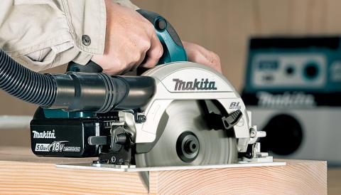 Makita lanserar kolborstfri 18V 165 mm cirkelsåg
