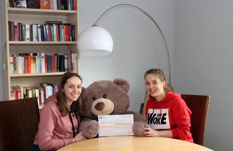 """Beste Neunte"": Schüler der Oberschule Krostitz unterstützen Bärenherz"