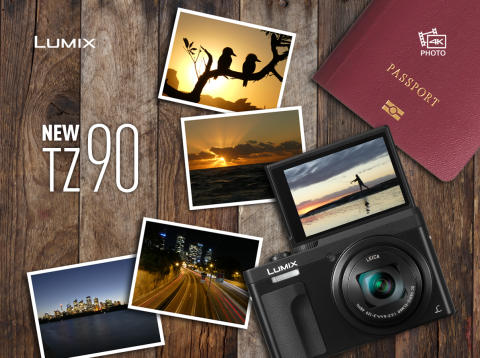 New LUMIX TZ90: Combine the flexibility of 4K Photo with the power of a 30x optical zoom in a compact body perfect for travelling