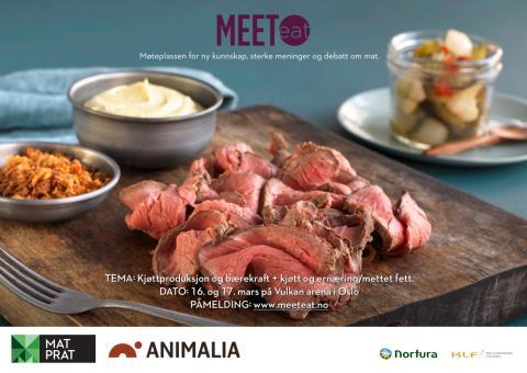 Kjøttbransjen samles rundt bærekraft og helse/ernæring