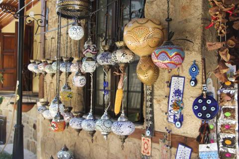 Shopping i Kaleici, Gamlebyen i Antalya
