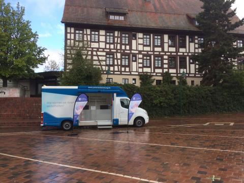 Beratungsmobil der Unabhängigen Patientenberatung kommt am 26. Juli nach Villingen.