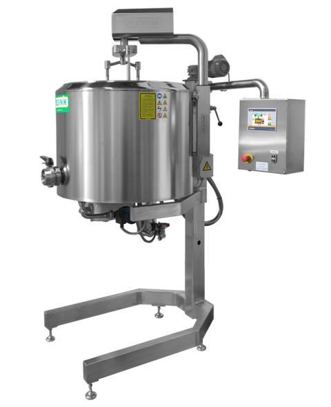 Plevnik cheese kettle SKH 200-300 Elevator