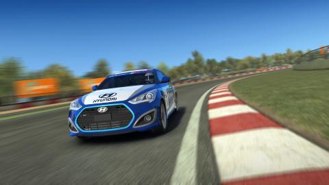Hyundai Veloster i Real Racing 3