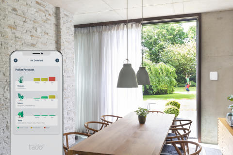 Bekæmp allergier og gør luftkvaliteten bedre derhjemme med tado°