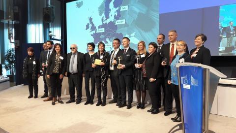 Skellefteå bland de bästa i Europa på tillgängligt stadsliv