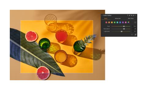 Capture One 20 - Color Editor