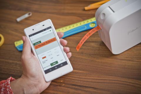 Brother lancerer smart lille labelprinter til hjemmet