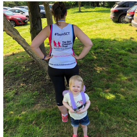 Parents on fundraising mission to thank The Sick Children's Trust