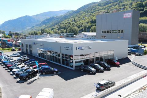 FordStore Valais – Durret Automobile SA devient Ford Flagship-Store à Sion