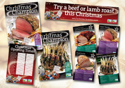 MAKE THE MOST OF BEEF AND LAMB SALES THIS CHRISTMAS WITH A NEW POS KIT FROM EBLEX