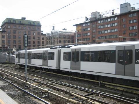 """Uke 2  av testprosjekt """"det åttende toget"""" på T-banen."""