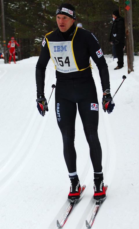 Roddaren Olaf Tufte i Vasaloppet