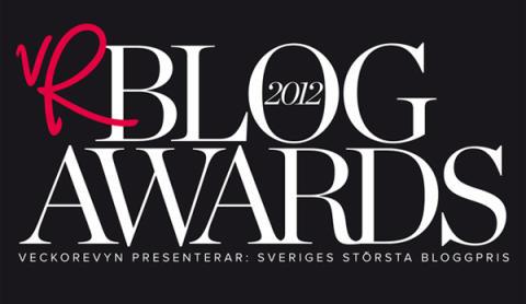 Sveriges bästa bloggar nominerade i VeckoRevyn Blog Awards 2012