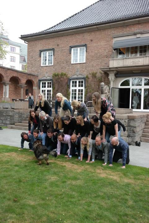 Nordic Choice Hotels gjør et løft for Nepal. Her med blant andre Petter Stordalen, Torgeir Silseth og Bjørn Arild Wisth.