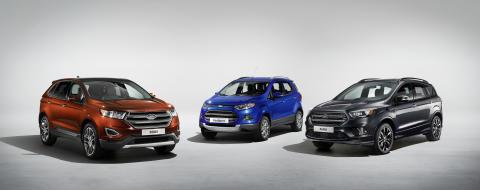 Kiihdyttävätkö ympäristötietoiset millenniaalit SUV-myynnin ennätykseen? Fordilta täyssähkö-SUV 480 kilometrin toimintasäteellä vuoteen 2020 mennessä