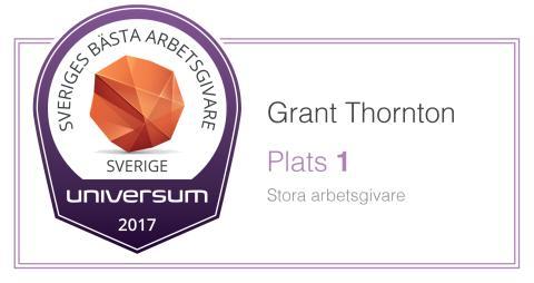 Grant Thornton - Sveriges Bästa Arbetsgivare 2017
