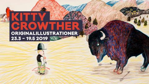 Kitty Crowther - en linjens mästare på Bror Hjorths Hus