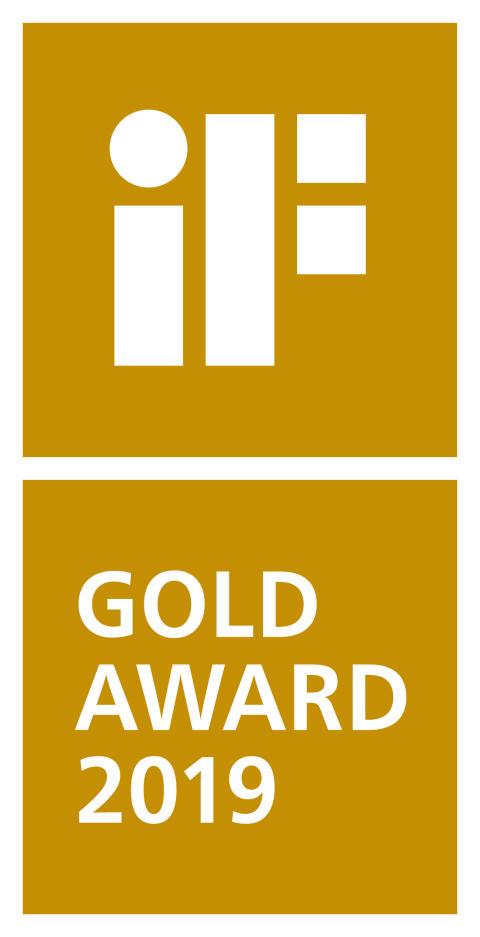 iF GOLD AWARD 2019 logo