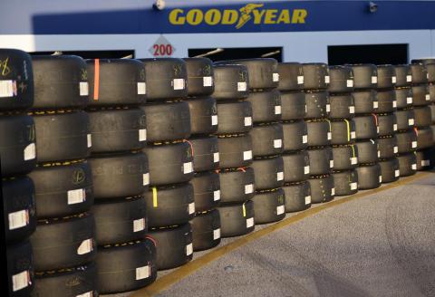 Goodyear general Racing tires