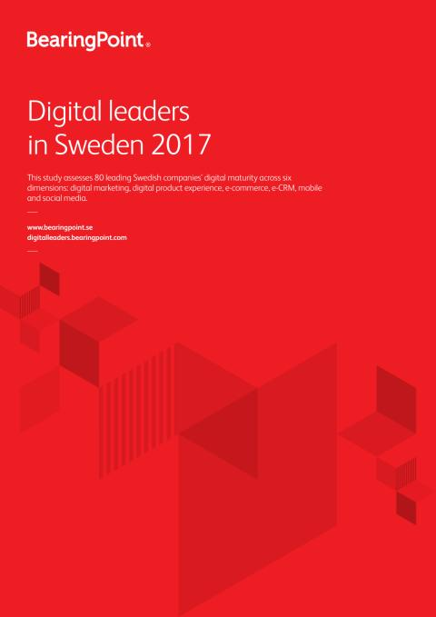 Digital leaders in Sweden 2017 industry ranking