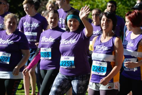 ​Chorley runners race to fundraising success for the Stroke Association