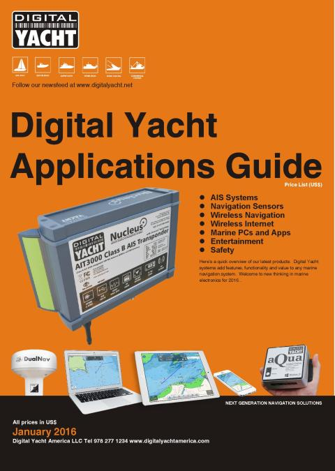 Digital Yacht At The Miami Show With New Products and Deals
