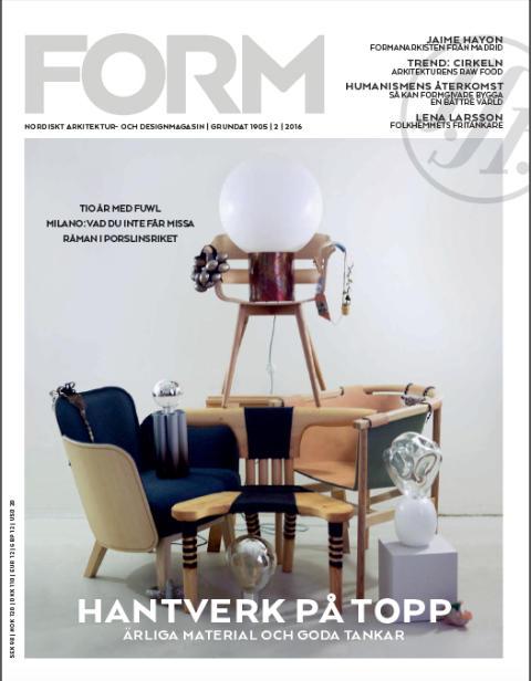 Nya numret av Form: Vad som händer i Milano