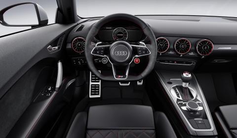Audi TT RS Coupé - cockpit