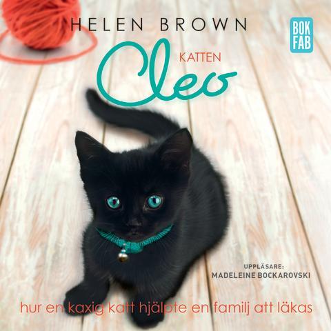 Katten Cleo av Helen Brown - Omslag ljudbok