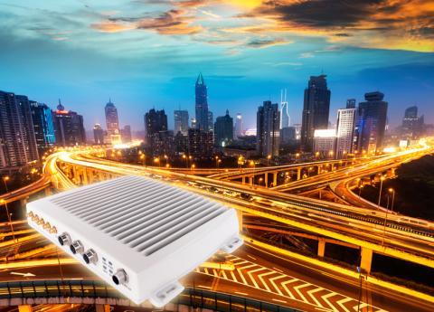 Radiolänk för snabbt internet i farten