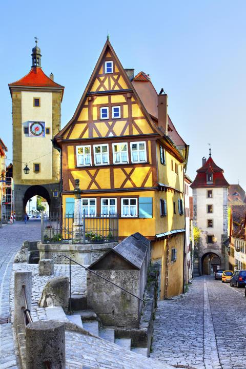Busstur til Bayern - Rothenburg ob der Tauber
