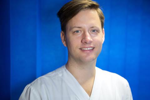 Leg läkare Johan Herlin Ejerhed, initiativtagare till kursen om den multisjuka patienten.