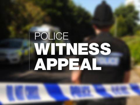 Appeal following suspicious incident in Shirley