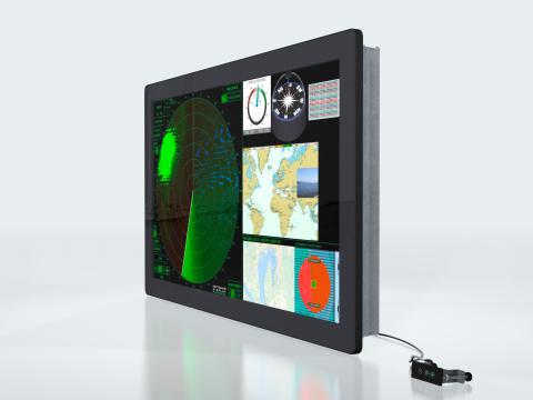 Hatteland Display: New Ultra High Definition Maritime Display Launched for Integrated Bridge System Consoles
