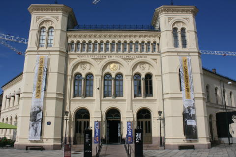 Fasade, Nobels Fredssenter