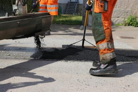 Peab Asfalt underhåller vägarna i Åre kommun och Årehus