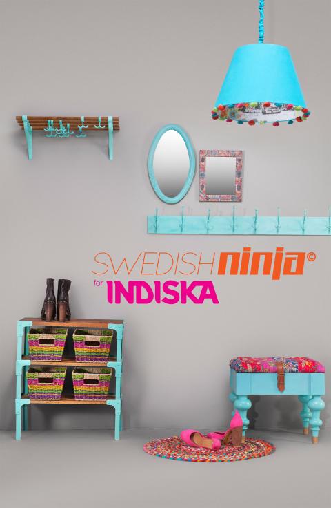 INDISKA lanserar ny inredningskollektion – Designad av Swedish Ninja