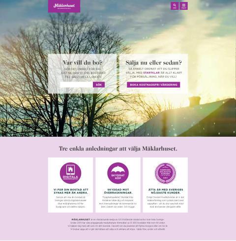 Mäklarhuset lanserar ny webb i full HD-kvalitet