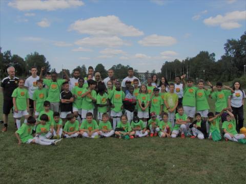 Gårdstens sommarfotboll med GAIS lockar 60 barn