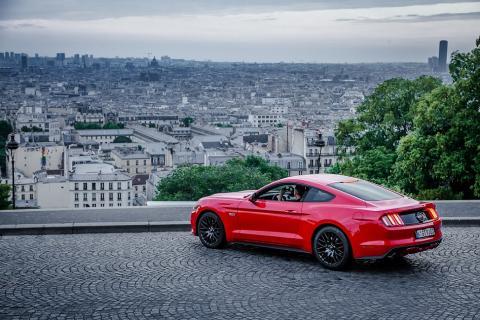 Ford Mustang ve Francii