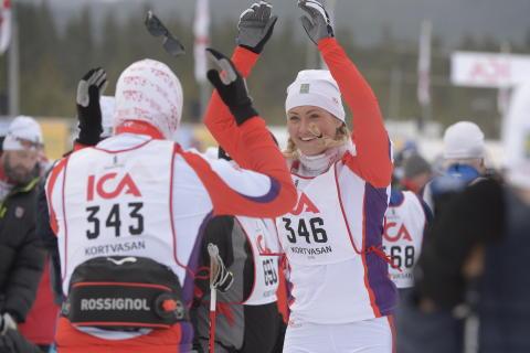 Kortvasan 30 km 2016-02-26 startade Vasaloppets vintervecka 2016