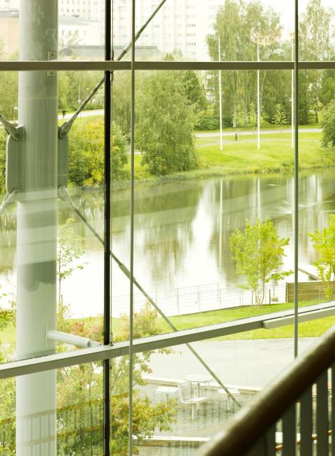 Universitetsparken, Umeå universitet