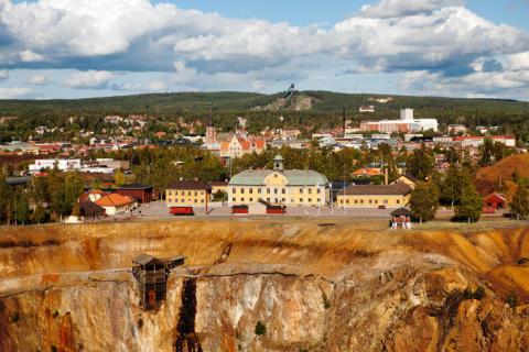 Byggnadsvårdsdag vid Falu Gruva