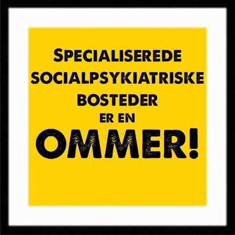 Drop forslaget om socialpsykiatriske afdelinger