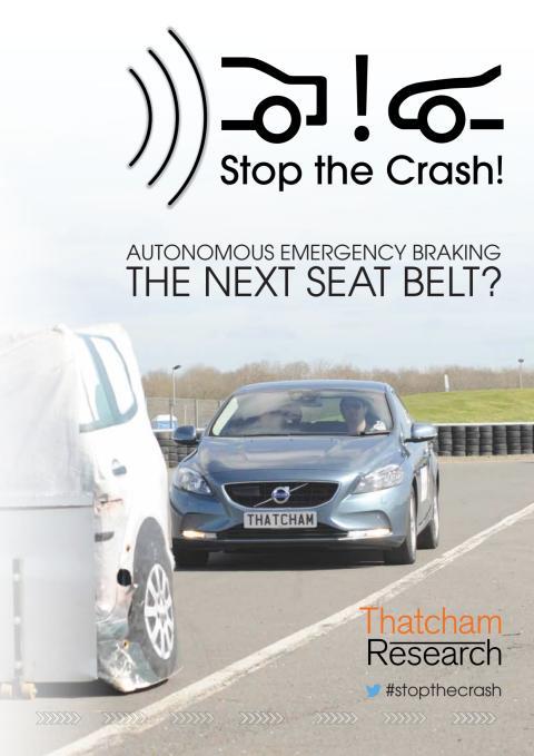 Autonomous Emergency Braking - summary document